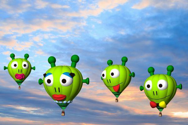 Cutie Aliens